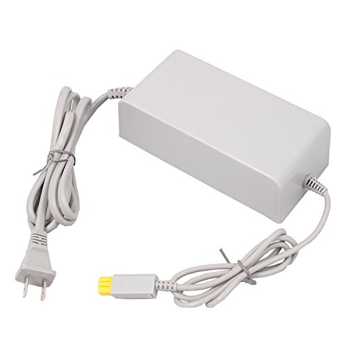 Wii U Console Charger WiiU AC Adapter Power Supply Replacement for Nintendo WiiU Console Wup-002 (Not compatible with Nintendo Wii)