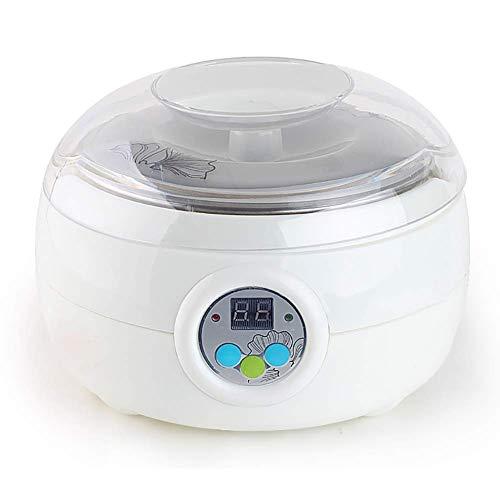 Adesign Joghurtbereiter, Soja-Joghurt, Quark, manuell, leicht zu reinigender Joghurtbereiter, Joghurtbehälter, Veganer Joghurt, Joghurt zubereiten