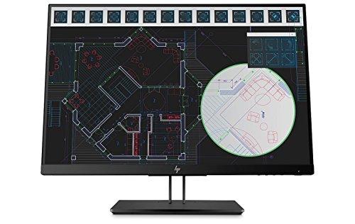 HP Z24i G2 24 Zoll Full HD IPS schwarz Flachbildschirm – PC-Flachbildschirm (61 cm (24 Zoll), 1920 x 1200 Pixel, LED, 5 ms, 300 cd/m², schwarz)