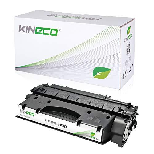 Kineco Toner kompatibel mit HP Q5949X Laserjet 1320, 3390, 3392, 1320NW - 49X - Schwarz 6.000 Seiten