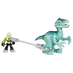 8. Playskool Heros Jurassic World Velociraptor