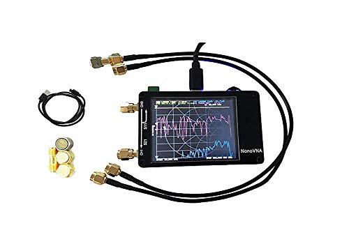 Nanovna Vector Netzwerkanalysator Antennenanalysator, Eingebaute 400mAh Batterie, 50 khz-900 mhz 2.8 Inch Digital LCD Display Touching Screen, MF HF VHF UHF Antenne Analyse