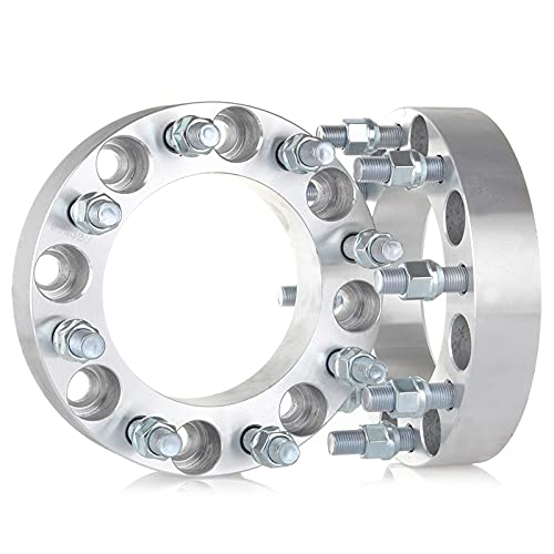 ECCPP 2X 1.5 inch 8x170mm Wheel Spacers 8X170 to 8x170 125mm fits for F250 F350...