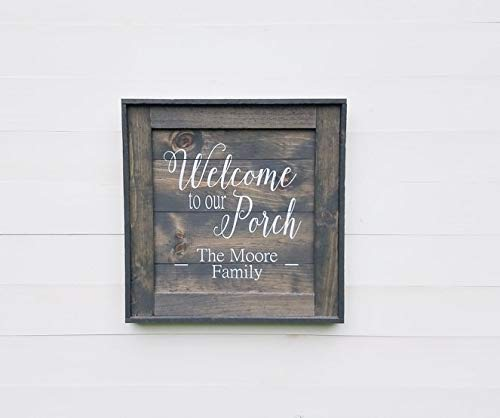 48x6 Custom Wood Sign  Personalized Wood Sign  Home D\u00e9cor  Vinyl Wood Signs  Wooden Signs  Pine  Outdoor  Indoor