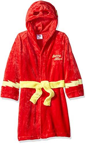 DC Comics Jungen Flash Hooded Robe Morgenmantel, 2 Jahre