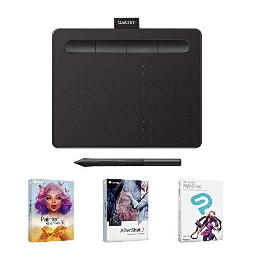 Wacom Intuos Creative Pen Tablet - Small, Black (Renewed)