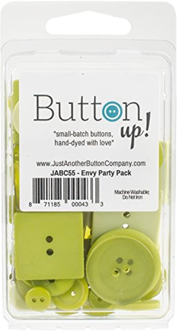 Button Up! JABC5508 Party Pack, Envy