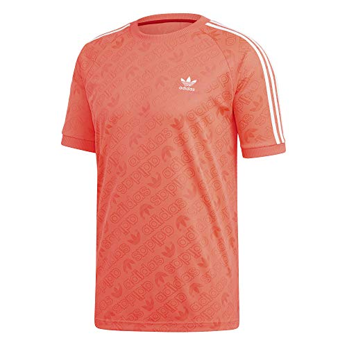adidas Mono Jersey T-Shirt, Hombre, Flash Red, L
