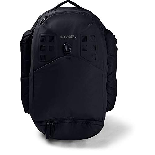 Under Armour Men's Huey 2.0 Backpack , Black (001)/Pitch Gray , One Size Fits All