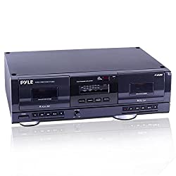 Pyle Dual Stereo Cassette Tape Deck