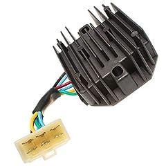 New aftermarket parts 12V 6 Wires Voltage Regulator 1553164601 15531-64601 Fits Kubota Tractor B1550 B1700 B2100 B2320 B2400 B2650 B3030 B3200 B3350