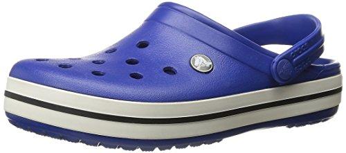 Crocs Crocband U, Zuecos Unisex Adulto, Azul (Cerulean Blue-Oyster), 39-40 EU