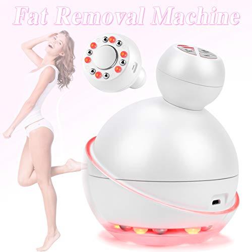 Máquina de eliminación de grasa Dispositivo ultrasónico de adelgazamiento del cuerpo Máquina de cavitación EMS RF para pérdida de peso corporal de forma