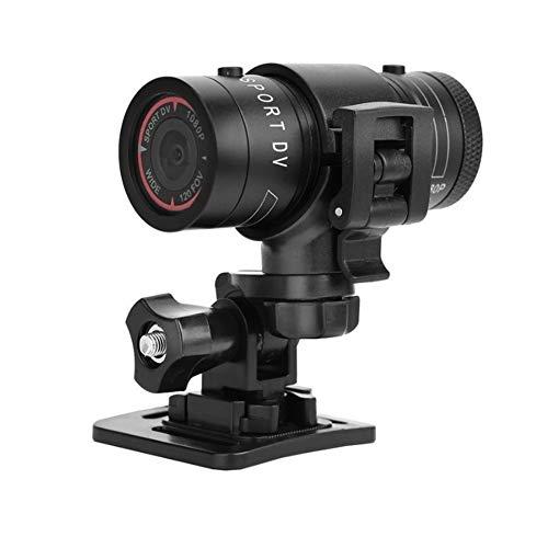 Mini Videocamera Sportiva,Full HD 1080P DV Portatile Telecamera, 120°Obiettivo Grandangolare,USB 2.0 Interfaccia,Supporta la Scheda TF ad Alta Capacità,Impermeabile Camera per Bici da Auto Sportiva