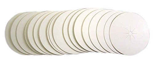 Paper Bobeche Drip Protector for Vigil Candles (50 Pack)