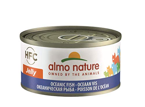 Almo Nature HFC Jelly Wet Cat Food con Ocean Fish...