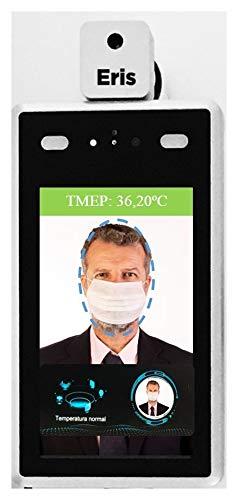ERIS Control Termo Facial Cámara Digital de Control de Acceso. Reconocimiento Facial. Detección de Mascarillas. Medición de Temperatura Corporal a Distancia. Acceso Seguro a Espacios Cerrados.