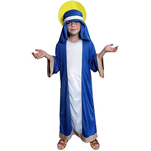 ILOVEFANCYDRESS Disfraz DE Virgen Maria para NIÑOS COSTUMA DE Navidad O Semana DE LOS Reyes(S)