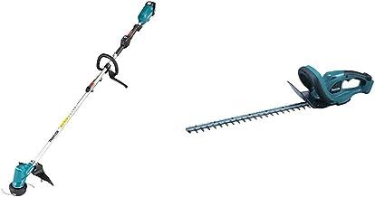 Makita DUR191LZX3 brushless Line Trimmer, 18 V & DUH523Z Cordless LXT Lithium-Ion Hedge Trimmer (Body Only), 18 V, 52 cm