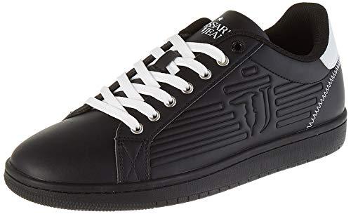 Trussardi Jeans Herren Sneaker ECOLEATHER Logo HIGH F Oxford-Schuh, K308, 45 EU