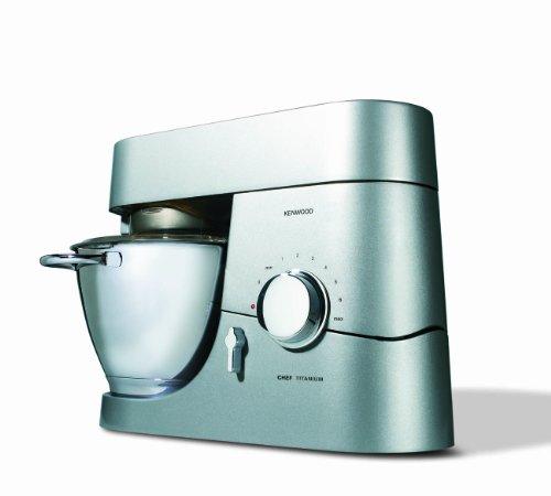 Kenwood-KMC-010-Kchenmaschine-Chef-1400-Watt-Fllmenge-46-l-Glas-Mixaufsatz-silber