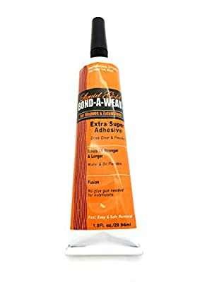 Liquid Gold Bond A Weav Extra Super Adhesive 1 oz Tube for Weaves and Hair Extensions