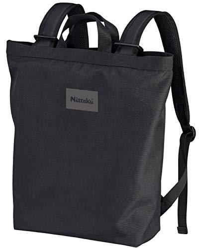 ニッタク(Nittaku) 卓球 バッグ デイリーハンドリュック ブラック (18L) NK7521FREE