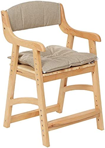 Kinder-Schreibtischstühle Kinder-Lernstuhl Sessel Esszimmerstühle Sitz, korrigierende Sitzhaltung Anti-Myopie-Buckel h nverstellbar, aus Holz, für Zuhause Computertisch Arbeitszimmer