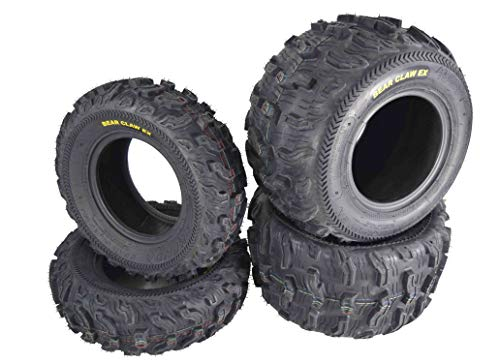 Kenda Bear Claw EX 21x7-10 Front 22x11-10 Rear ATV 6 PLY Tires Bearclaw - 4 Pack Set