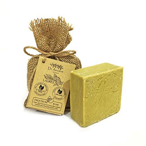 Savon d'Alep 60% huile d'olive 40% huile de laurier traditionnel végétalien traditionnel naturel biologique - Antibacterien, le psoriasis - Pas de produits chimiques, savon naturel!