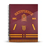 Harry Potter Varsity-Cuaderno Papel Cuadriculado DIN A4