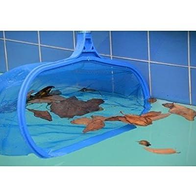 Tookie Premium Piscine Net Feuille Écumoire, en Maille Filet Écumoire Propre Outil Profonds pour Piscine Bassin Jacuzzi Fontaine Aquarium Filet de Nettoyage pour Aquarium