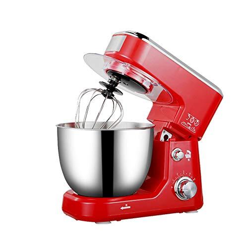 XXDTG Bol en Acier Inoxydable électrique Support Mixeur crème Blender Pétrir gâteau de pâte à Pain Chef de la Machine Fouetter Les œufs Batteur (Color