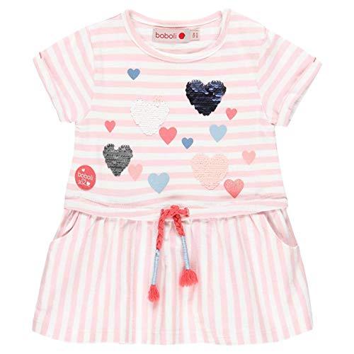 Vestido punto listado de bebé niña Boboli modelo 212106