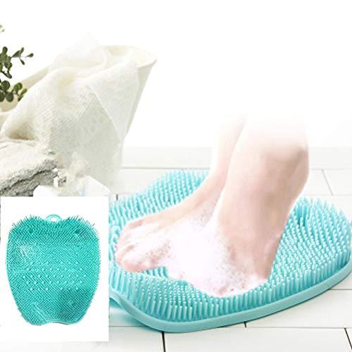 Hihey Fußbürste Reinigung Massage für Füße Fußpflege Fuß Pflege Bürste Waschbürste Fußmassage unter der Dusche Hornhautentferner