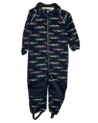 NAME IT Softshellanzug NMMALFA Suit CAR Waterproof, Windproof (104)