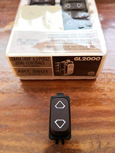 Interruptor doble Legrand Molveno GL2000 art. 2601