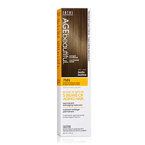 Agebeautiful Liqui-Creme 7Nn Dark Intense Blonde, 2-Ounce