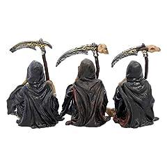 Nemesis Now Something Wicked (Set of Three) Figurine 13cm Black #3