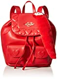 Love Moschino Backpack Handbags, Red (Rosso), 29x14x30 Centimeters (W x H x L)