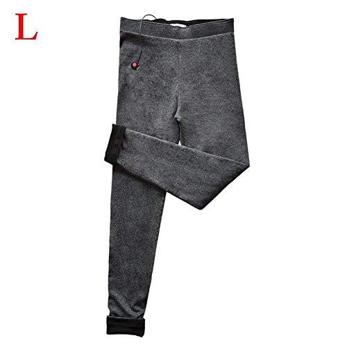 Funihut Pantalones Térmicos USB Pantalones Aislantes Recargables para Mujeres Control De...