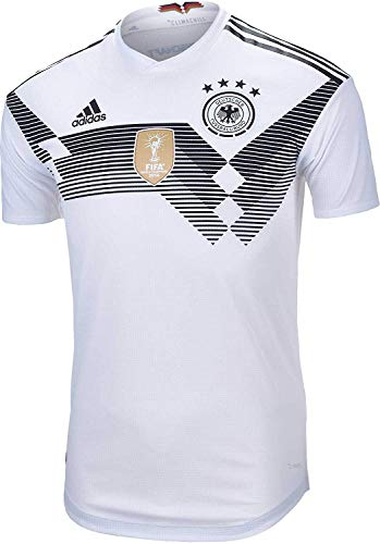 Adidas Men's Germany Home Jersey 2018 White/Black