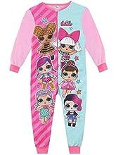 L.O.L. Surprise! Pijama Entera para Niñas [Multicolor -5-6 Años ]