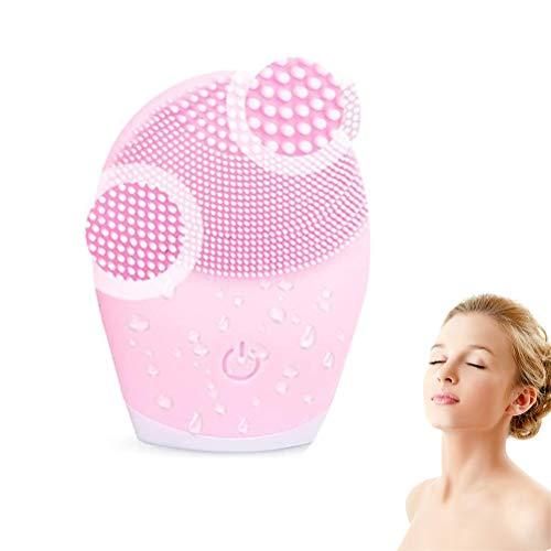 Cepillo de Limpieza Facial Ultra higiénico de Silicona Suave Limpiador eléctrico de...