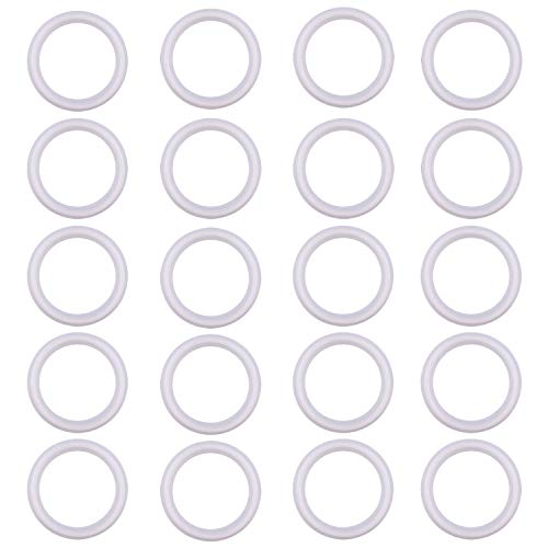 20Uf Micron//625Mesh ARTESIAN SYSTEMS 20 Micron VITON//FKM Tri Clamp Screen Filter Gasket 316L 6 VITON With /& FDA Certification Stainless Steel Pharmaceutical Grade Filter Mesh