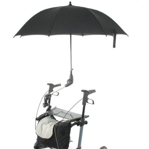 MPB Pieper Rollatorschirm 85L für 85 Prozent aller Rollatoren und Rollstühle geeignet