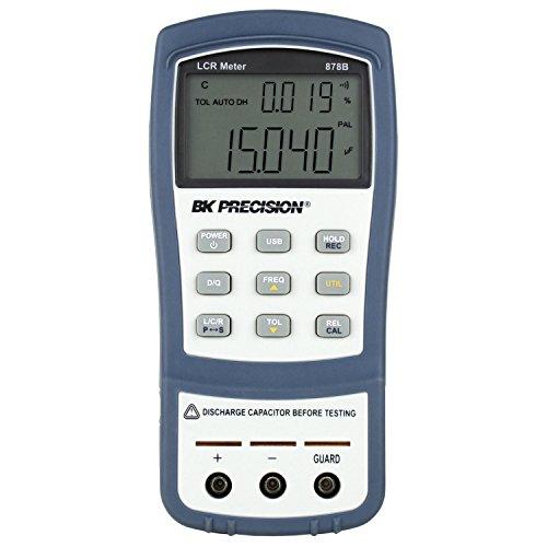 B & K Precision 878B Dual Display Handheld Universal LCR-Messgerät