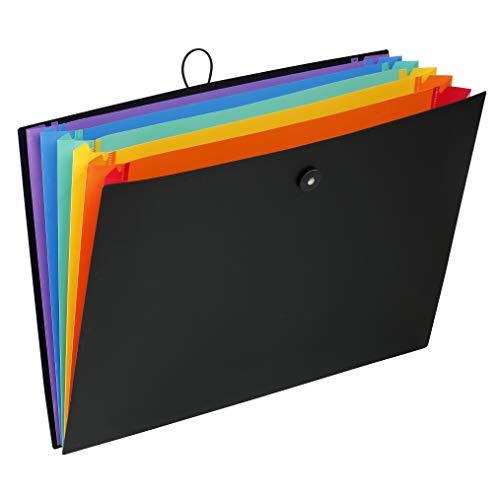 Viquel - Archivador (A3, 6 posiciones, para dibujo o documentos), color negro