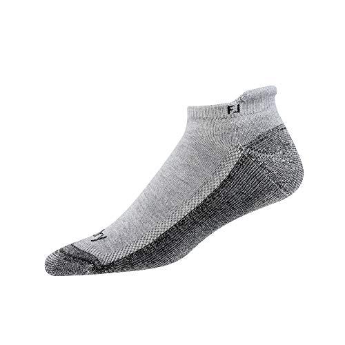 FootJoy Men's ProDry Roll Tab Socks Heather Grey Size 7-12