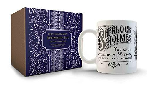 Vintage Sherlock Lustige Tasse mit Zitat